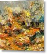 Abstract Autumn 2 Metal Print