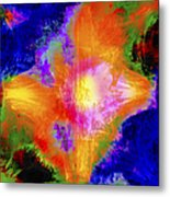 Abstract Series B1 Metal Print