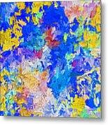 Abstract Series B10 Metal Print