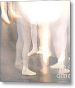 Abstract Ballet Metal Print