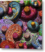 Abstract - Beans Metal Print