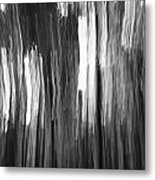 Abstract Black And White Composition Metal Print