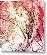 Abstract Branches Metal Print