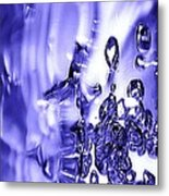Abstract Bubble Study Metal Print