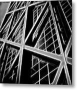 Abstract Buildings 2 Metal Print
