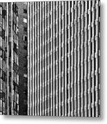 Abstract Buildings Metal Print