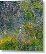 Abstract By Nature Metal Print