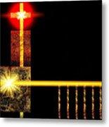 Abstract Church Metal Print
