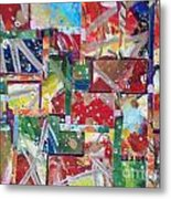 Abstract Collages 1 Metal Print