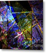Abstract Composite 1 Metal Print