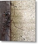 Abstract Concrete 11 Metal Print
