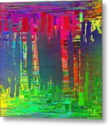 Abstract Cubed 113 Metal Print