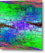 Abstract Cubed 114 Metal Print