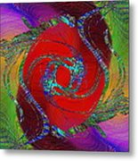 Abstract Cubed 189 Metal Print