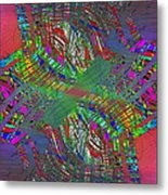 Abstract Cubed 194 Metal Print