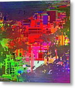 Abstract Cubed 2 Metal Print