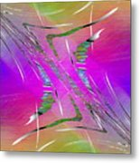 Abstract Cubed 223 Metal Print