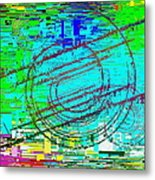 Abstract Cubed 41 Metal Print