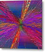 Abstract Cubed 95 Metal Print