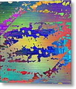 Abstract Cubed 99 Metal Print
