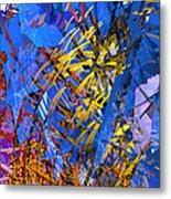 Abstract Curvy 11 Metal Print