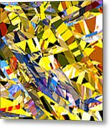 Abstract Curvy 34 Metal Print