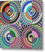 Abstract Digital Art Collage Metal Print