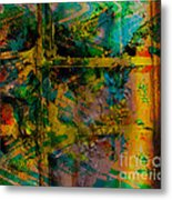 Abstract - Emotion - Facade Metal Print