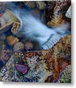 Abstract Falls Metal Print