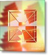 Abstract Five-storied Pagoda 1 Metal Print