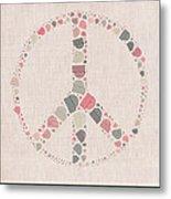 Peace Symbol Design - S77bt01 Metal Print
