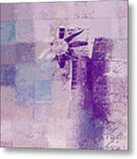 Abstract Floral - A8v4at1a Metal Print by Variance Collections