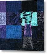 Abstract Floral - H15bt3 Metal Print