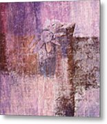 Abstract Floral- I55bt2 Metal Print