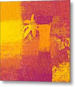 Abstract Floral - M31at1b Metal Print by Variance Collections