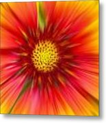 Abstract Flower A Metal Print