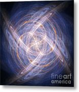Abstract Fractal Background 17 Metal Print