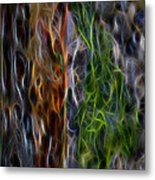 Abstract From The Sea Metal Print