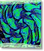 Abstract Fusion 167 Metal Print