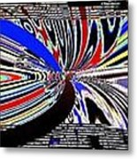 Abstract Fusion 197 Metal Print