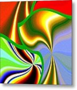 Abstract Fusion 200 Metal Print