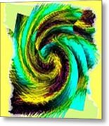 Abstract Fusion 201 Metal Print