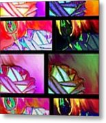 Abstract Fusion 214 Metal Print