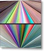 Abstract Fusion 242 Metal Print