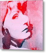 Abstract Garbo Metal Print