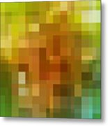 Abstract Geometric Background Metal Print