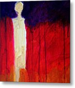 Abstract Ghost Figure No. 1 Metal Print