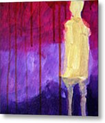 Abstract Ghost Figure No. 3 Metal Print
