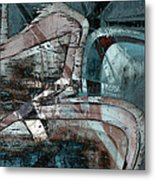 Abstract Graffiti 9 Metal Print