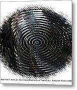 Abstract Harley Davidson Engine Metal Print
